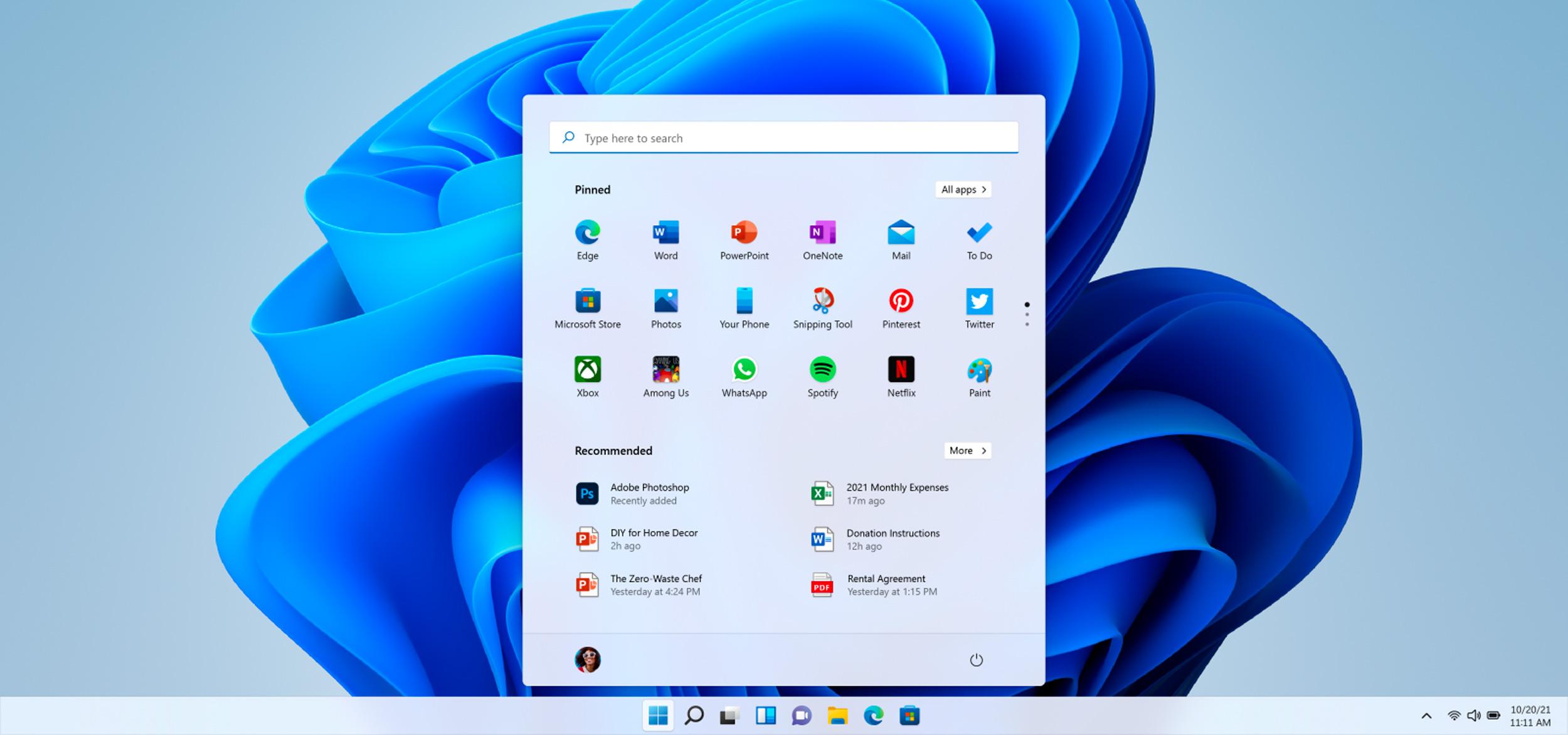 Microsoft выпустила ISO образ предварительной версии Windows 11