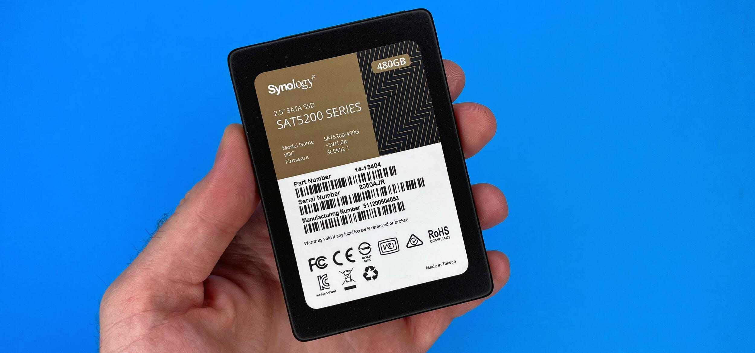 Обзор SSD Synology SAT5200-480G – быстрый накопитель корпоративного класса